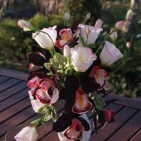Bouquet)))  Students work
