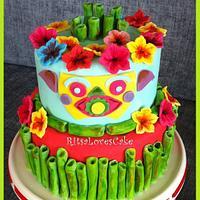 Tiki Cake by Ritsa Demetriadou