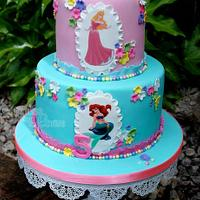 Disney Princess' cake