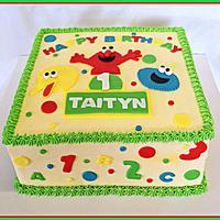 Sesame Street 1st birthday