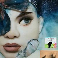 "Collaboration for ""Primavera de Arte"" My version for Aerial , Anne Ditman by Irina Sanz"