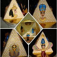 Pyramid ( 3D cake)