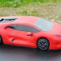 Lamborghini Huracan LP 610-4   3D Cake