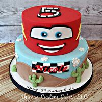 Pixar Cars cake for Icing Smiles, Inc