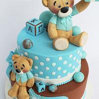 Teddy cake