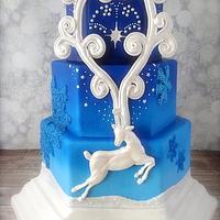 Reindeer Holiday Wedding - Cake Central Volume 4 Issue 12