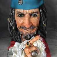 Captain Edward Teague/Keith Richards CPC Pirates of the Caribbean Collaboration
