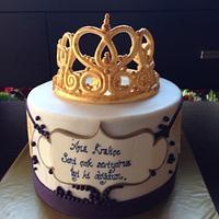 Queen birthday cake