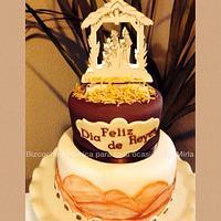 Three kings, cake
