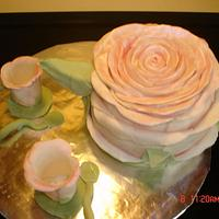Mothers Day Teapot Cake by Dana