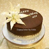 maricel's bday cake
