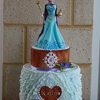 Elsa's coronation - Frozen