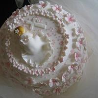 Baptism cake. by Sugar&Spice by NA