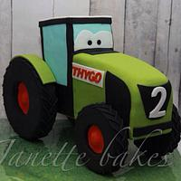 Claas tractor cake