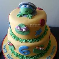 Teenage Mutant Ninja Turtles TMNT Birthday Cake