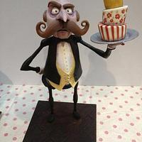 Higgins the Butler Cake