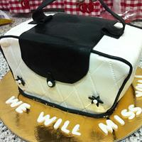 My first purse cake!