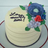 A cake for mom