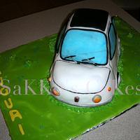 OLD FIAT 500 Cake by Sakko