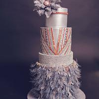 ACD Fall into fashion cake