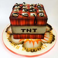 Airbrushed Minecraft TNT