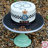Metropolitan Police Retirement Celebration Cake