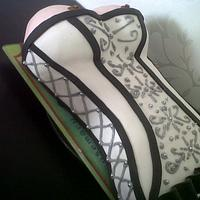 corset cake 18+