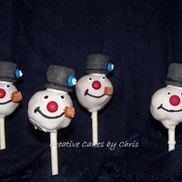 Frosty Cake Pops