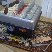 Tablesaw cake