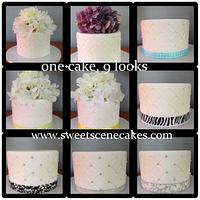 quilted cake, 9 different looks