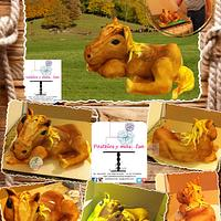 HORSE 3D CAKE
