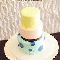 Monster's Inc. Themed Anniversary Cake