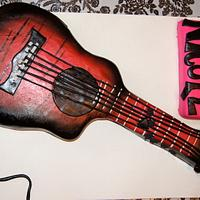 Acoustic-Electric Guitar cake