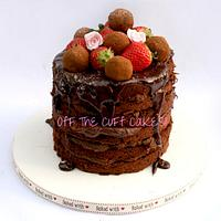 6 layer chocolate truffle cake