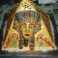 "my fourth ever cake ""egyption"" by timdefatone"