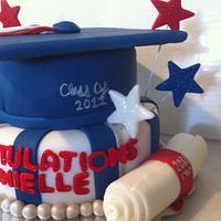 Graduation Cake by Nikki Belleperche