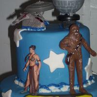 Star Wars Cake by Angie Mellen