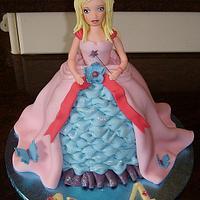 All Handmade Barbie Doll Cake