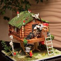 House on chicken's legs :)