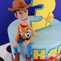Toy Story Cake  Howdy Woody!
