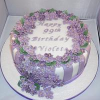 Violets for Violet...