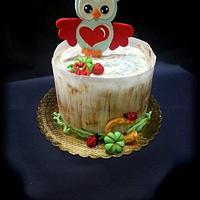 Owl Lucky cake