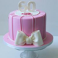 60th Birthday cake by Fiso