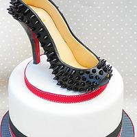 Spiked Shoe Cake