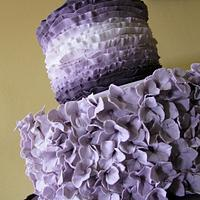 Maggie Austin Inspired Wedding Cake