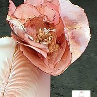 Gorgeous blush weddingcake