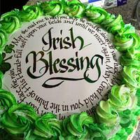 Irish Retirement Cake