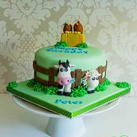 Farmyard cake