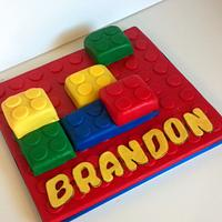Lego My Birthday Cake!