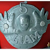 Iron Man 3 Cake by Bobie MT